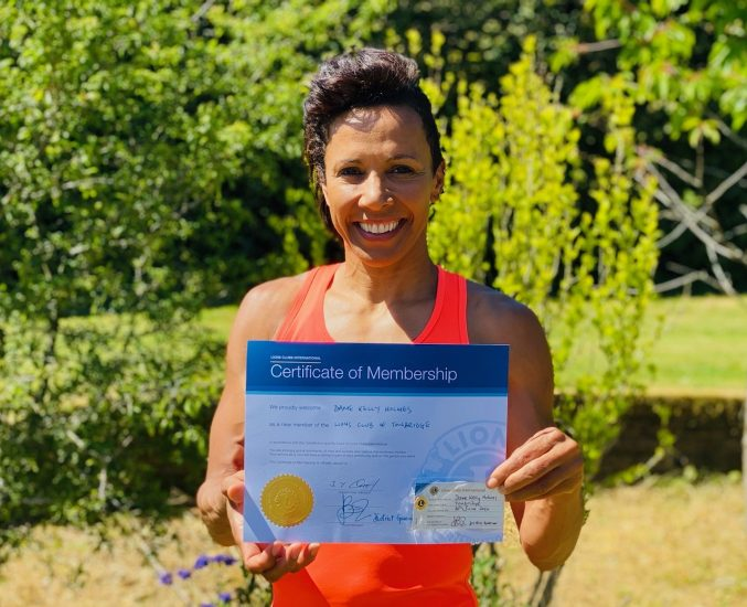 Dame Kelly Holmes becomes Honorary Member